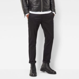 Chino Παντελονι G-Star Raw Chino Slim Bronson Black
