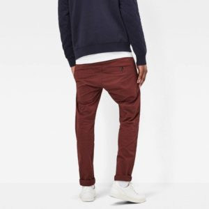 Chino Παντελονι G-Star Raw Chino Slim Bronson – Bordeaux