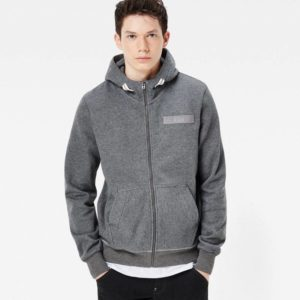 Ζακετα Φουτερ G-Star Raw Hooded Core Zip Sw