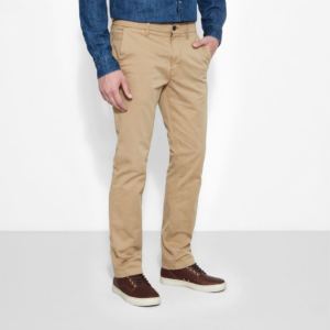 Παντελόνι Chino Timberland – Squam Lake Twill Chinos – χακίΠΑΝΤΕΛΟΝΙ TIMBERLAND SQUAM LAKE TWILL CHINOS KHAKI