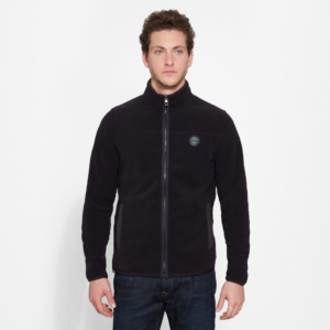 Ζακέτα Fleece Timberland Whiteface River Polar Fleece – μαύρο