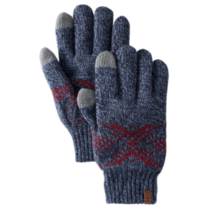 Γάντια Timberland Fair Isle Knit Glove Evening Blue