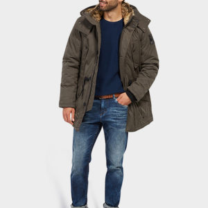 Μπουφάν Tom Tailor Parka – Dark Grey