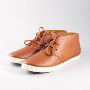 Παπουτσια Fred Perry B9081 Byron Mid Leather Tan C55
