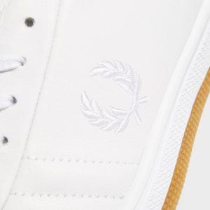 Δερμάτινα παπούτσια Fred Perry B19 B1 fp Tennis Shoe Quilted Leather White B19 B1 200