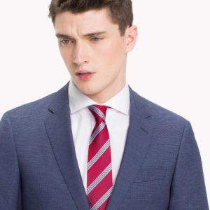 Κοστούμι Tommy Hilfiger Micro Check Pure Wool Suit