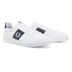 Casual παπούτσια Fred Perry  B3112 – άσπρα