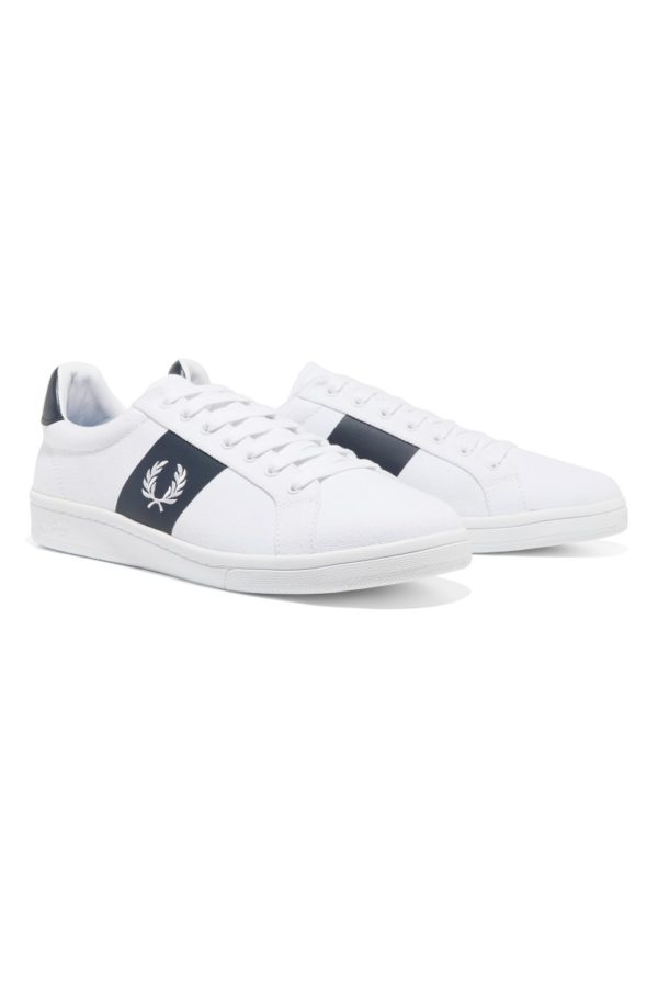 Casual παπούτσια Fred Perry B721 leather White - άσπρο