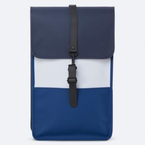 Backpack Rains Blue – Ice Grey – 1331 Color Block – μπλε, γκρι
