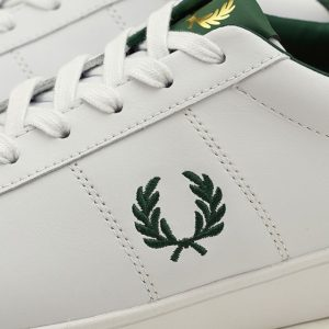 Fred Perry B8250 100 Spencer Leather – White