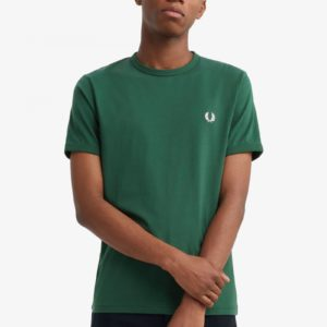 T-Shirt Fred Perry M3519 656 Ivy Ringer