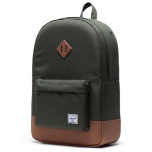 Backpack Herschel Heritage Dark Olive – Saddle Brown 10007-03011-OS