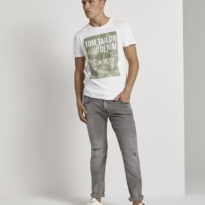 Tom Tailor Piers Slim Jeans – Destroyed Look  1020493