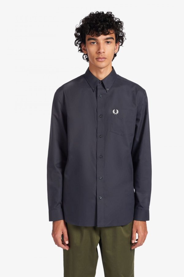 Πουκάμισο Fred Perry M8501 Oxford Navy
