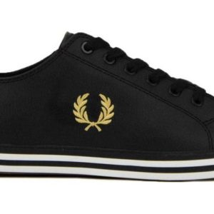 Casual παπούτσια Fred Perry  B7163 102 – μαύρο