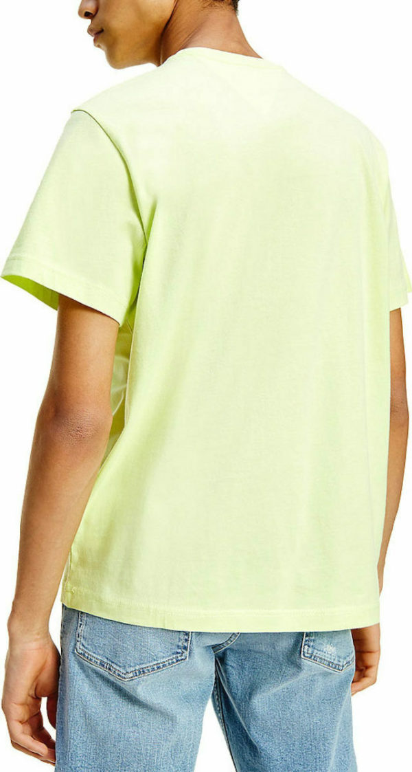 all about men Tommy Hilfiger - TJM Corp Logo Tee Faded Lime DM0DM10214 LT3 γκρι