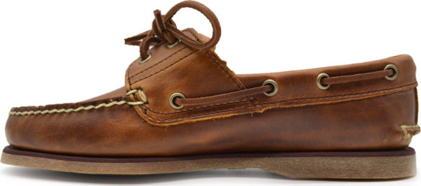 all about men Timberland - Classic Boat 2 Eye Medium Brown TB0A232XF741 καφέ