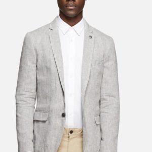 Σακάκι Jack & Jones Blazer – Harry Light Grey Melange Slim fit