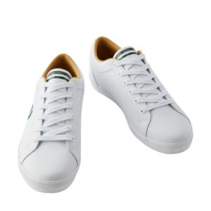 Fred Perry B1228 100 Baseline Leather – White