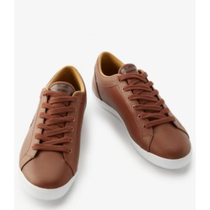 Fred Perry B1228 448 Baseline Leather – Tan