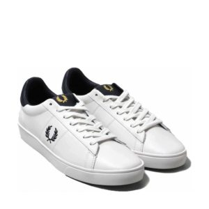 Fred Perry B8250 254 Spencer Leather – Porcelain