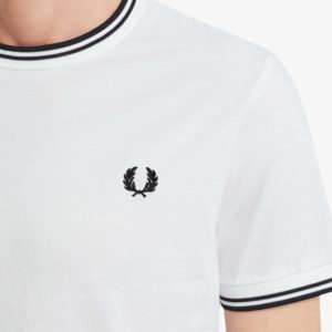 Fred Perry Twin Tipped T-Shirt M1588 100, 167889