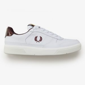 Fred Perry B300 Embossed Leather